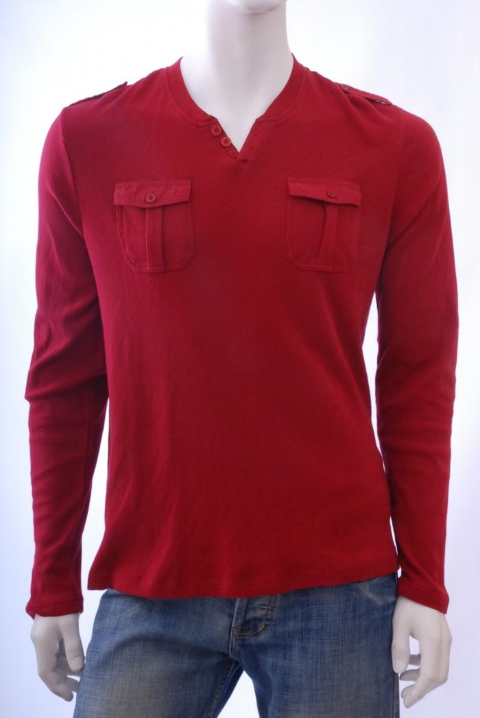 Pánské triko Road - Červená