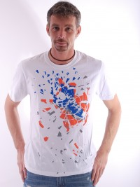 Pánské triko Fleming - Bílá
