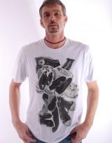 Pánské triko Storm - Bílá
