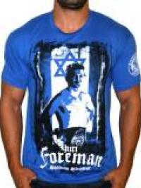 Pánské triko Yuri Foreman - Modrá