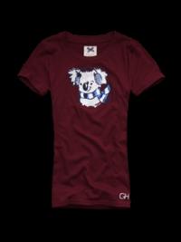 Dámské triko Gilly Hicks - Roselands - Vínová