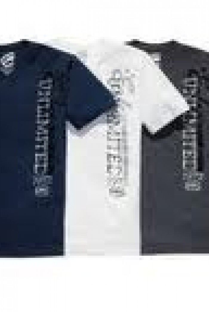 Pánské triko Vert Sketch - Modrá
