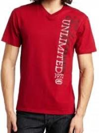 Pánské triko Vert Sketch - Červená