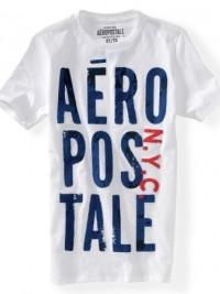 Pánské triko Aero Puff Graphic - Bílá