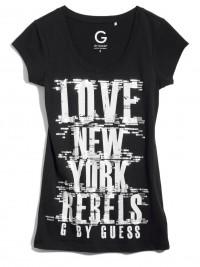Dámské triko G by Guess Abrielle NY - Černá