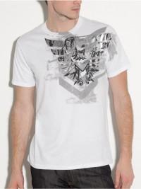 Pánské triko G by Guess Jackal - Bílá