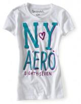 Dámské triko Aero NY Paint - Bílá