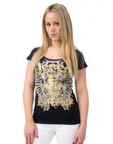 Dámské triko Angel Tee - Černá
