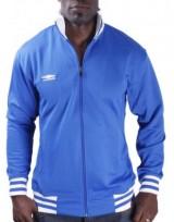 Pánská fotbalová tréniková bunda Track Jacket - Modrá