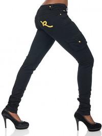 Dámské skinny kalhoty Rocawear Cant Stop me - Černá