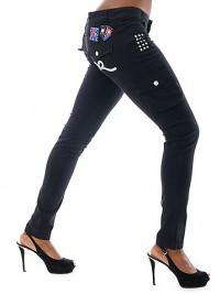 Dámské skinny kalhoty Rocawear Cargo Pant - Černá